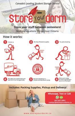 Storm your Dorm International Student Services