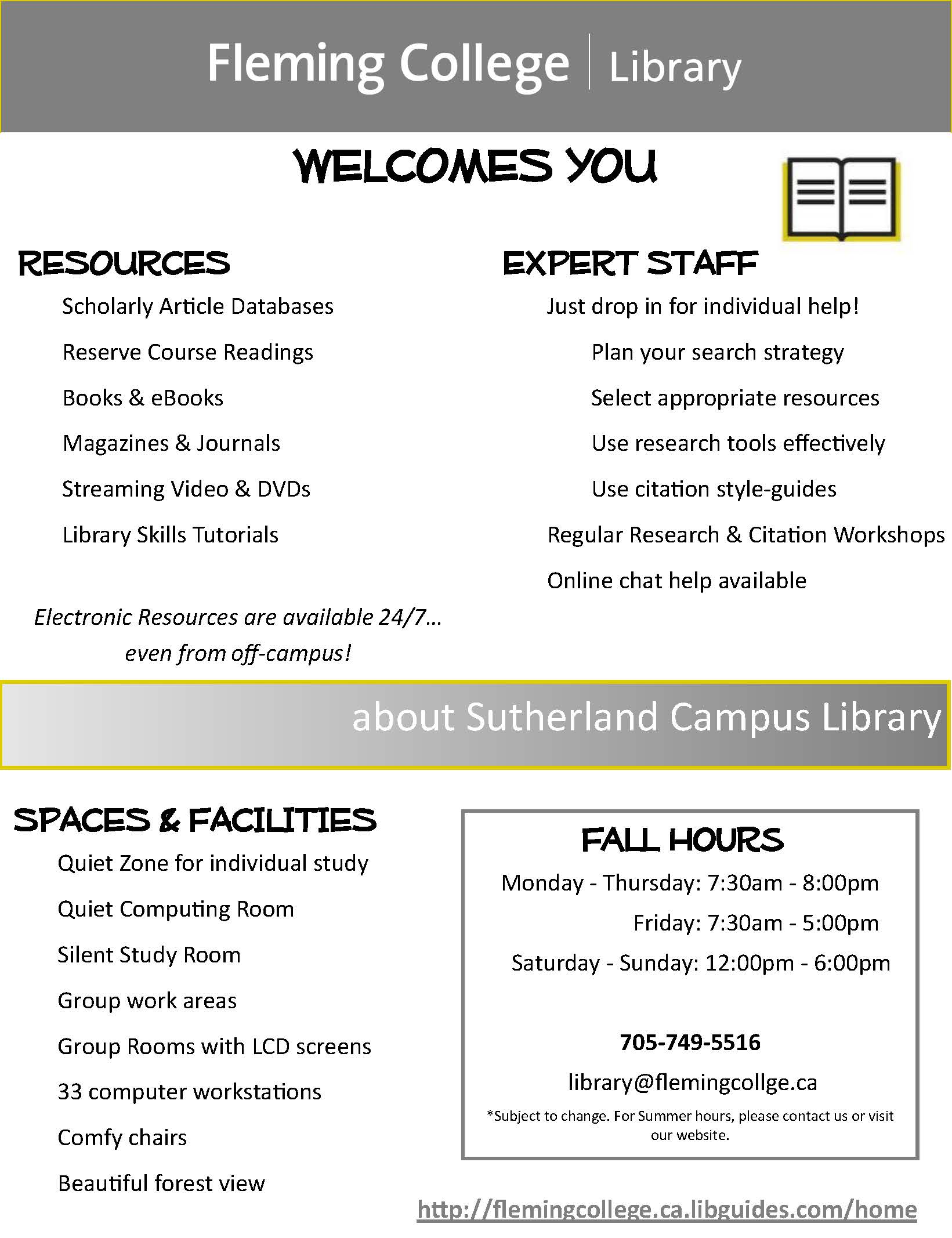 Sutherland Library Info