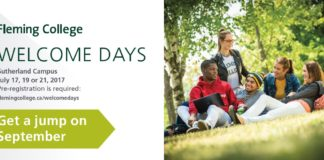 Welcome Days Information Package – Sutherland Campus