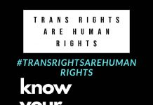 Trans Rights are Human Rights Poster