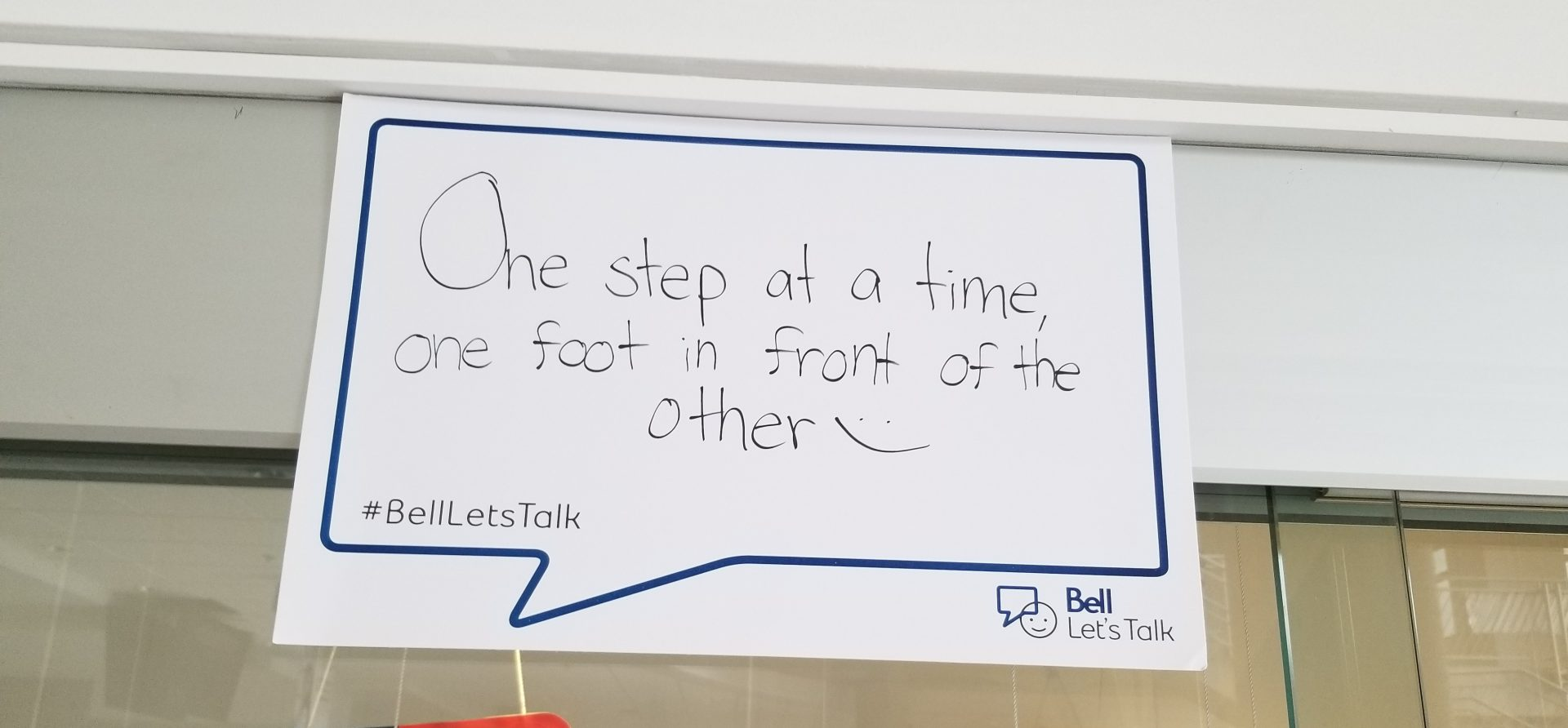 Bell Let's Talk Day 2019 Poster