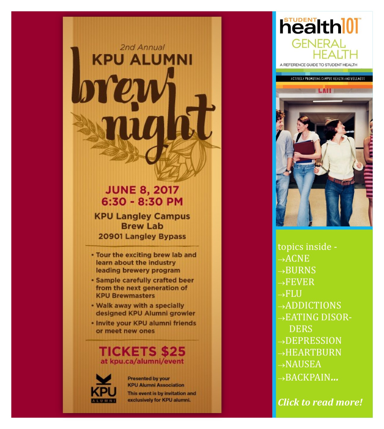 KPU Alumni Brew Night