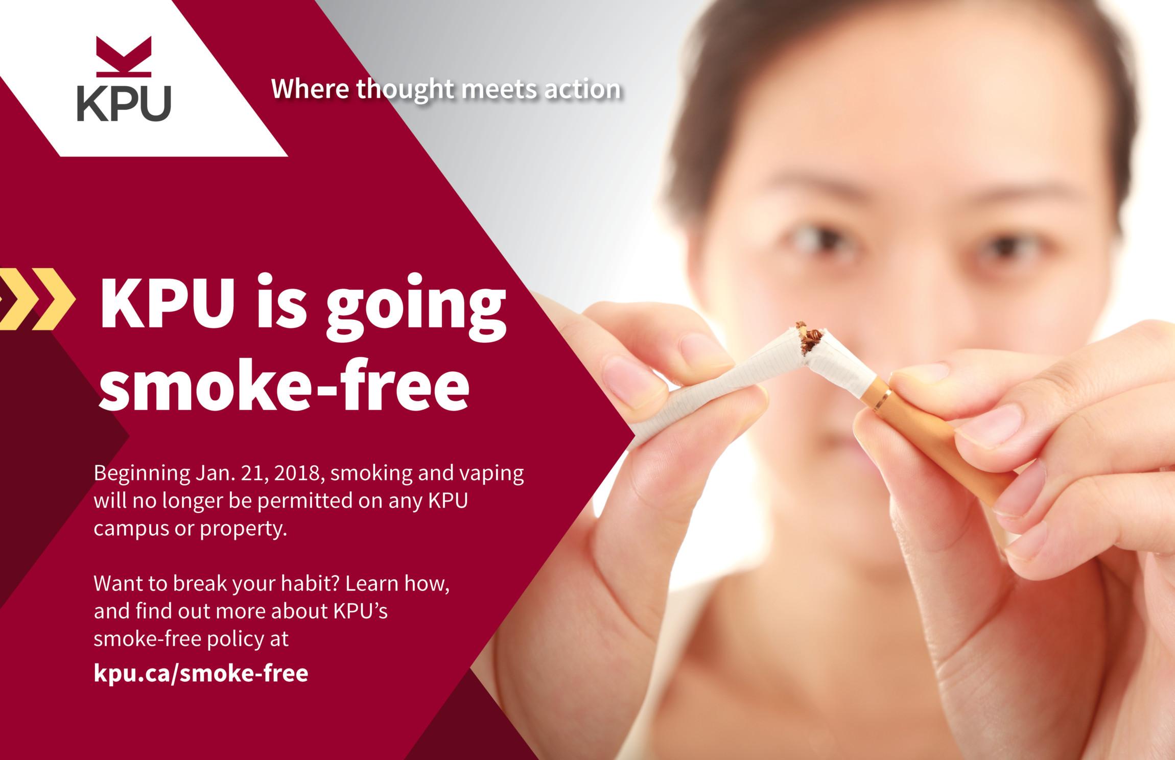 Smoke-free KPU Poster