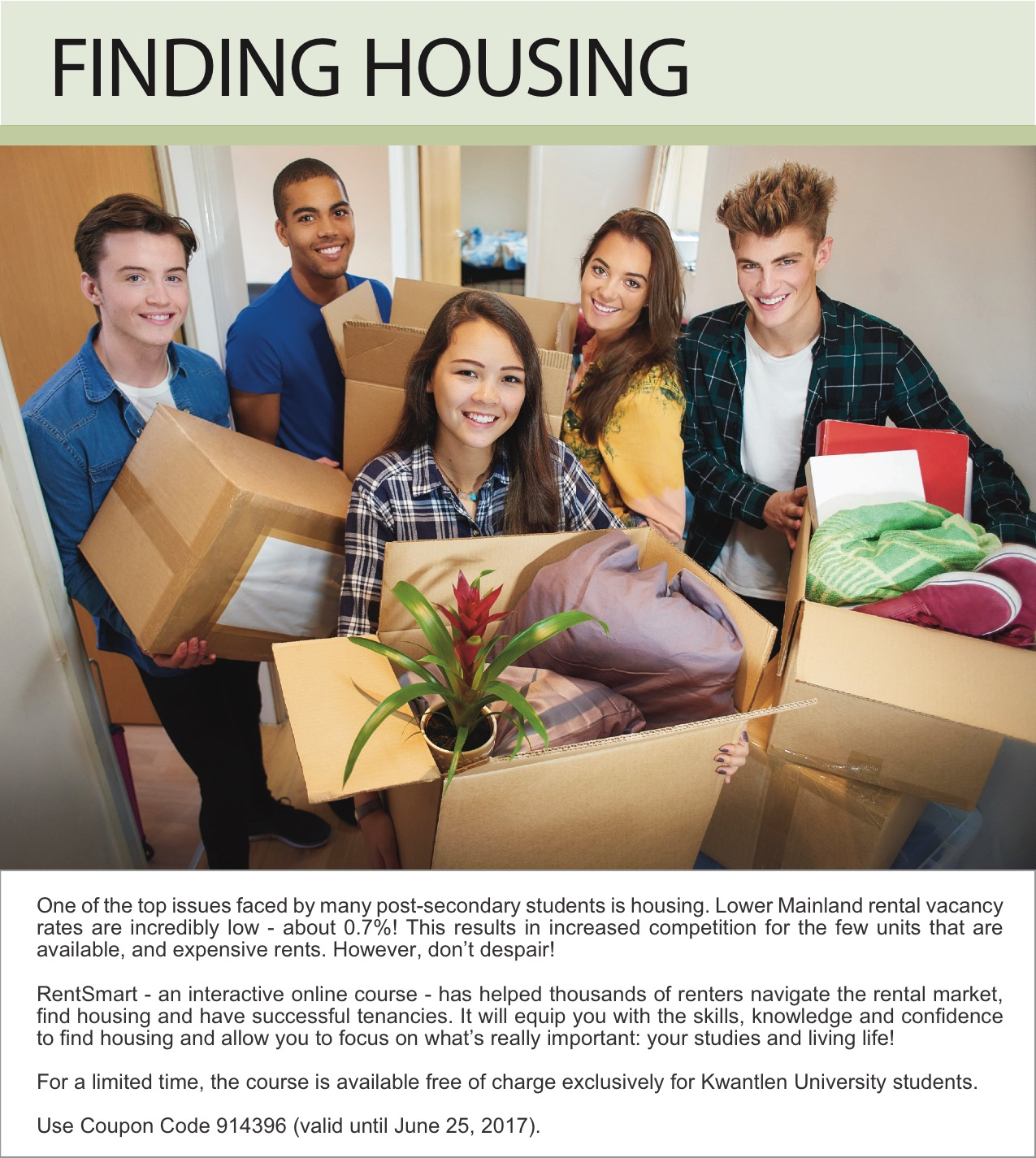 Finding Housing