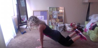 30-day fitness challenge – Tricep push ups