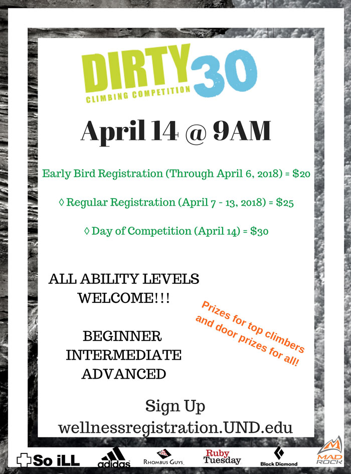 Dirty 30 Climbing Competition