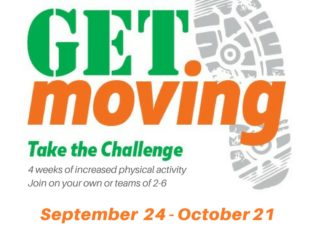 Get Moving Challenge: 4 weeks of increased physical activity
