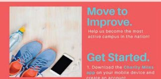 Move to Improve: Help us become the most active campus in the nation