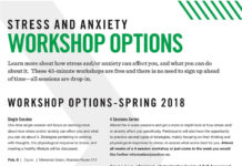 Improve your Mental Health- Free Stress and Anxiety Workshops