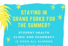 Student Health is OPEN all Summer!