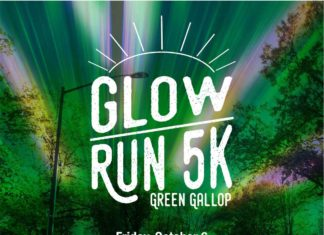 Green Gallop Glow Run celebrate Homecoming by Lighting up campus REGISTER BY Aug. 1 – Aug. 31: $20 Sept. 1 – Oct. 5: $25 Day of Registration: $30 The Wellness Center will be giving out glow sticks and light up wearables Will be held rain or shine Register at UND.edu/greengallop Friday, October 6 8 p.m. – Wellness Center