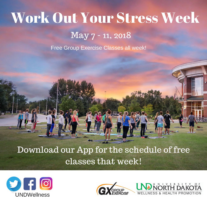 Work Out your Stress Week! (May 7-11)