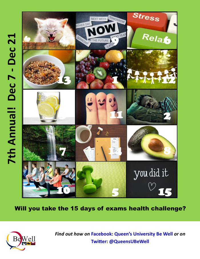 15 Days of Exams Health Challenge