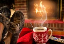 Drinking-tea-by-the-fire