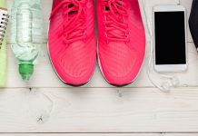 Fruit-notebook-water-sneakers-iphone-backpack