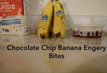 Chocolate Chip Banana Energy Bites