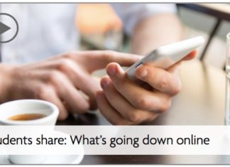 Students share: What's going down online