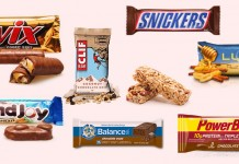 Different kinds of bars
