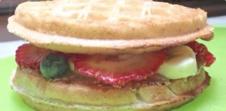 Savory Waffle-wich