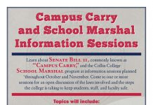 Campus Carry and School Marshal Information Sessions