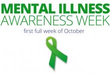 Mental Illness Awareness Week First Week of October