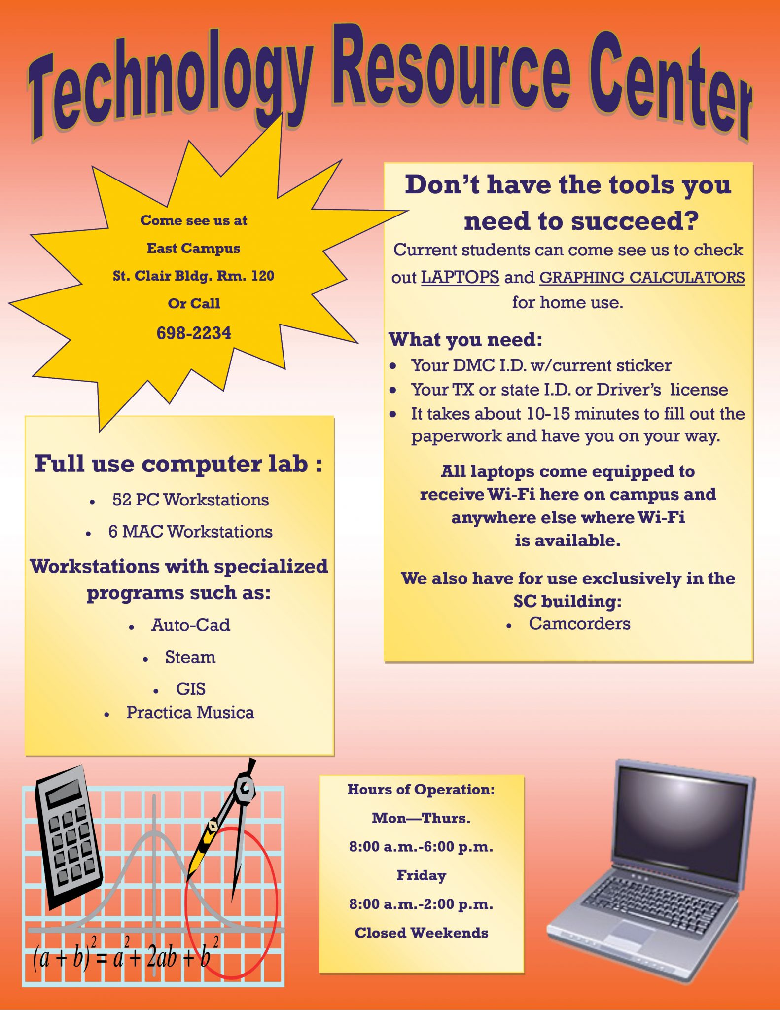 Free Laptop and Equipment Rental