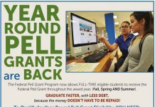 Year Round PELL Grants are Back!