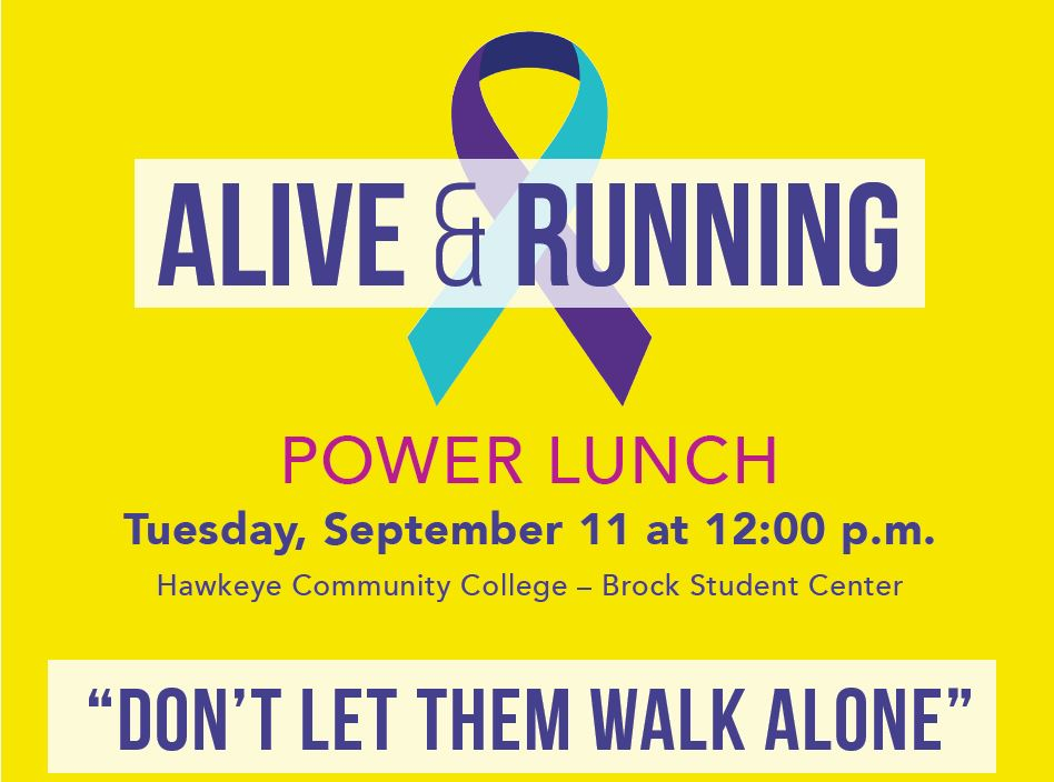 Alive and Running Power Luncheon