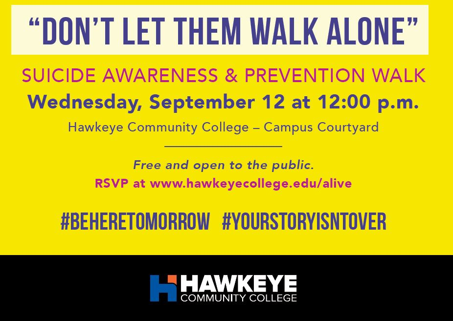 Suicide Awareness and Prevention Walk