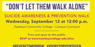 Don't Let Them Walk Alone - Suicide Awarness