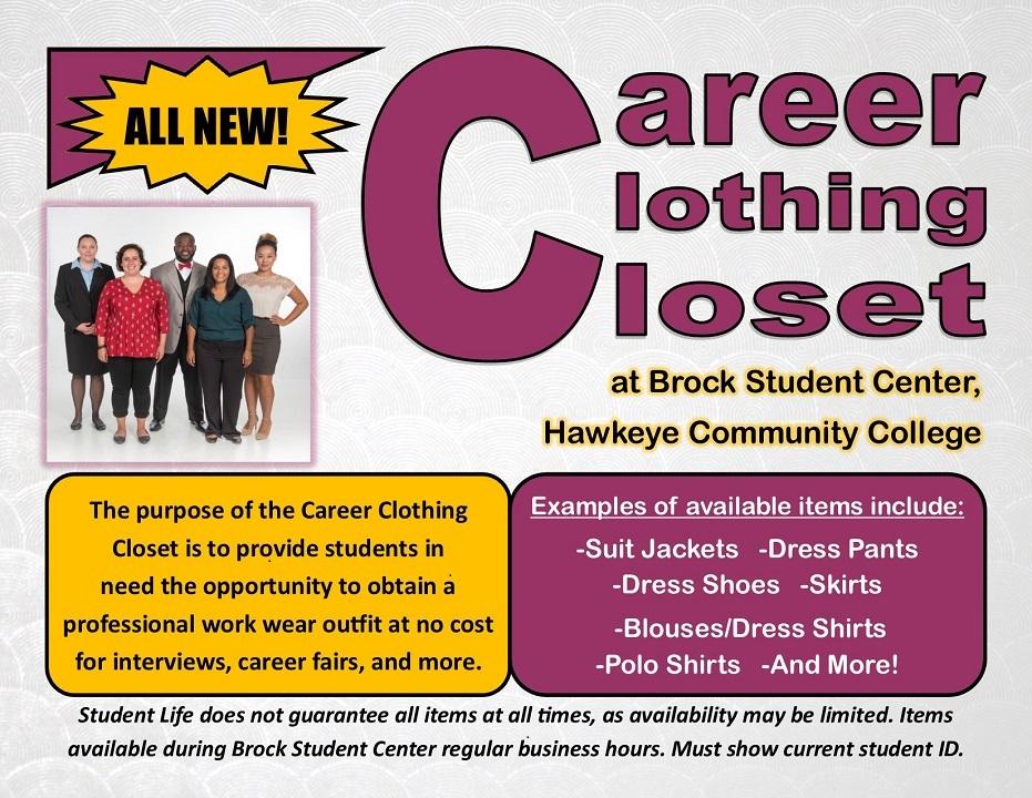 Career Clothing Closet