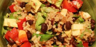UCookbook: Bean burrito bowl