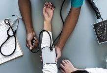 Person-getting-their-blood-pressure-taken