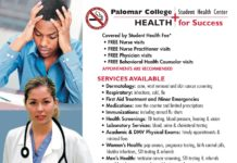 Palomar College Student Health for Success