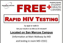 Free HIV Testing on campus!