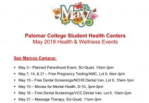 May Health & Wellness Events
