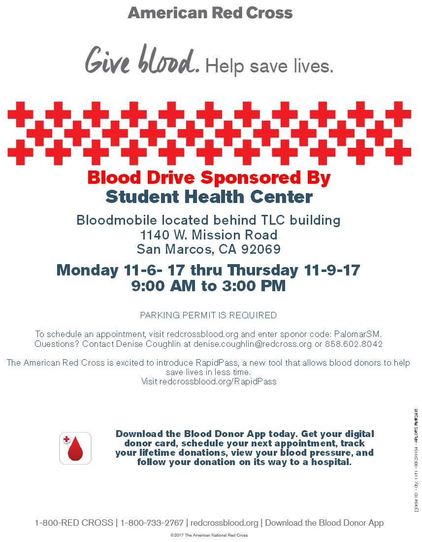 November Blood Drive