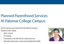Planned Parenthood Services At Palomar College Campus