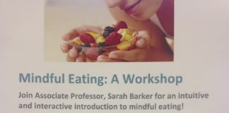 Mindful eating: A workshop