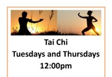 Tai Chi Tuesdays and Thursdays 12:00pm Come join us by the Mirror Pool in front of Building C for 35 minutes of relaxation through movement All are Welcome No Experience Required Sponsored by PCC Mindfulness Working Group