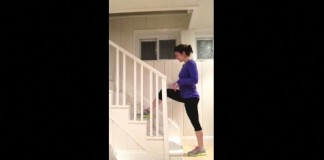 Stair workout