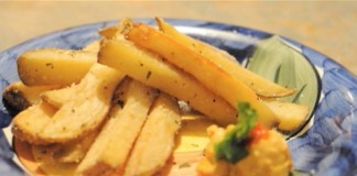 Fried potatoes get healthy