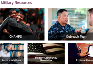 A Look at Ashford's Military Student and Student Veteran Support Services