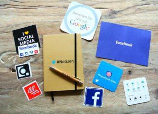 social media layout