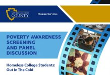 Poverty film screening and panel discussion January 21, 2020