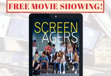 We are screening a movie about screens! Join The PEERS and Student Success coaches for an open discussion about screen use and how it impacts our lives. Thursday, March, 29th 4:00-6:00 p.m. Bertolini Student Activities Center *Free Food* FREE MOVIE SHOWING! *Free Popcorn*