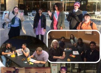 """Thanks to those who shared their truth in Brave Spaces with us and helped us work on our allyship! Thanks to those who a ended the """"I Am...Safe Zone"""" Ally Development Trainings. Thanks to those who pledged to intervene as active bystanders. #SwoopIn Interested in being part of Aspiring Allies for Social Justice? Contact us: wellness@uttyler.edu"""