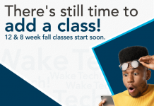 Add a 12 or 8 week class today!