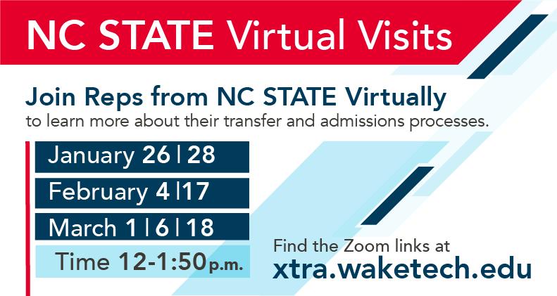 NC State Virtual Visits
