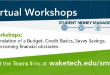Student Money Management Workshops